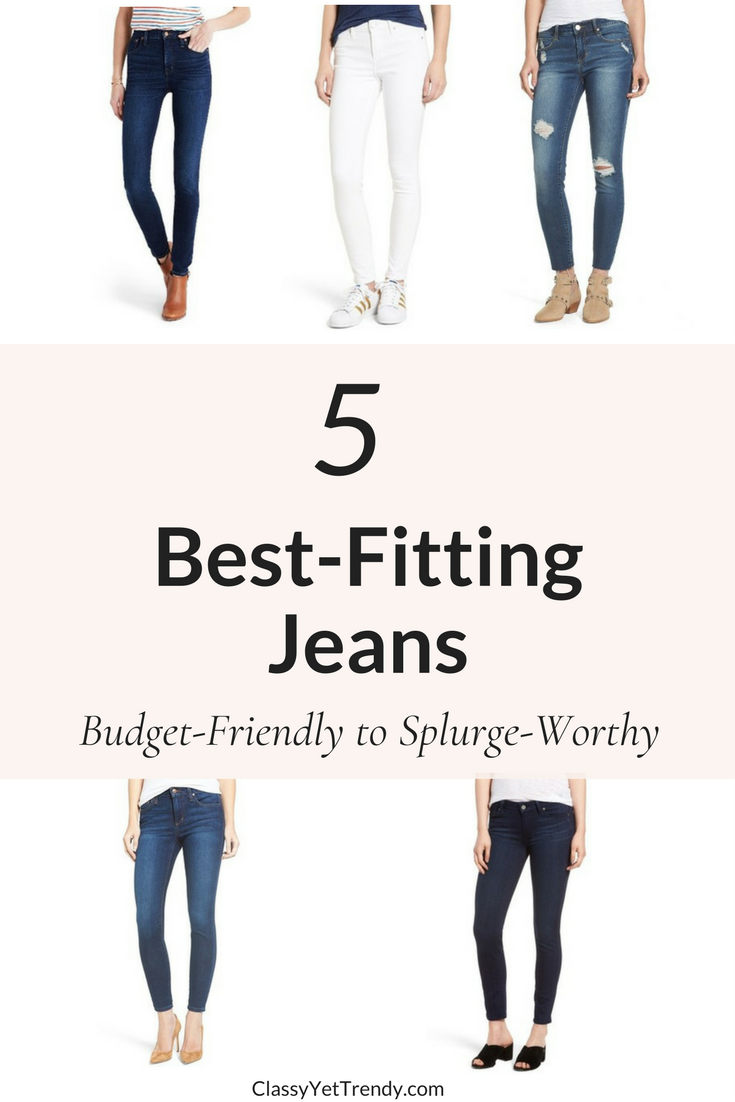 5 Best-Fitting Jeans