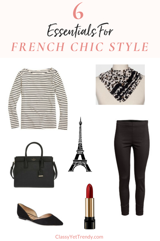 6 Essentials For French Chic Style