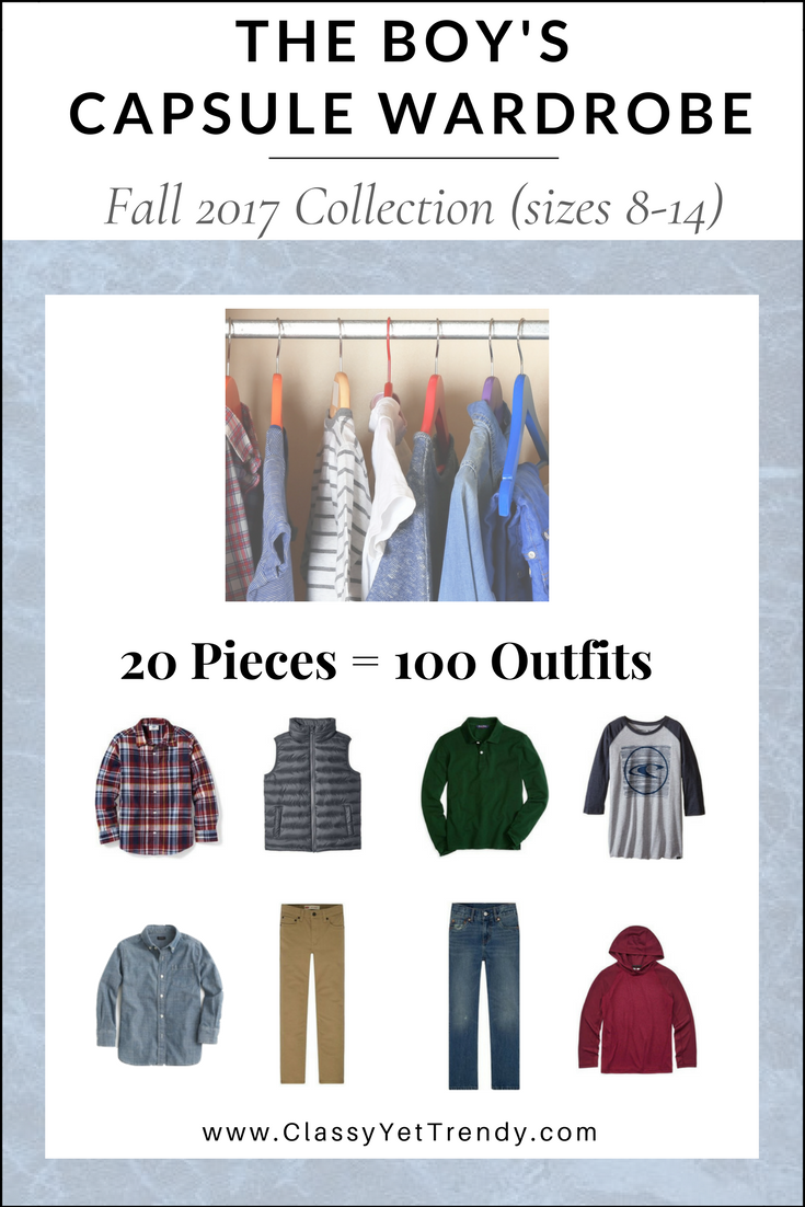 Boys Capsule Wardrobe Fall 2017 eBook