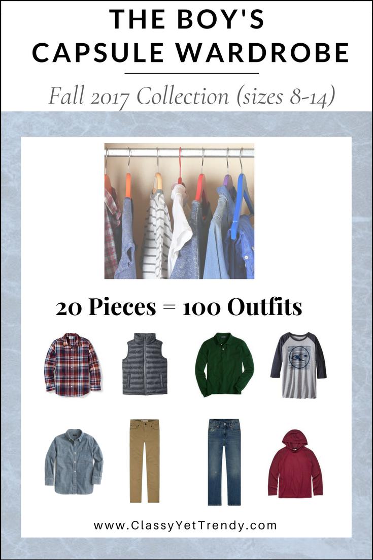 Boys Capsule Wardrobe Fall 2017 eBook
