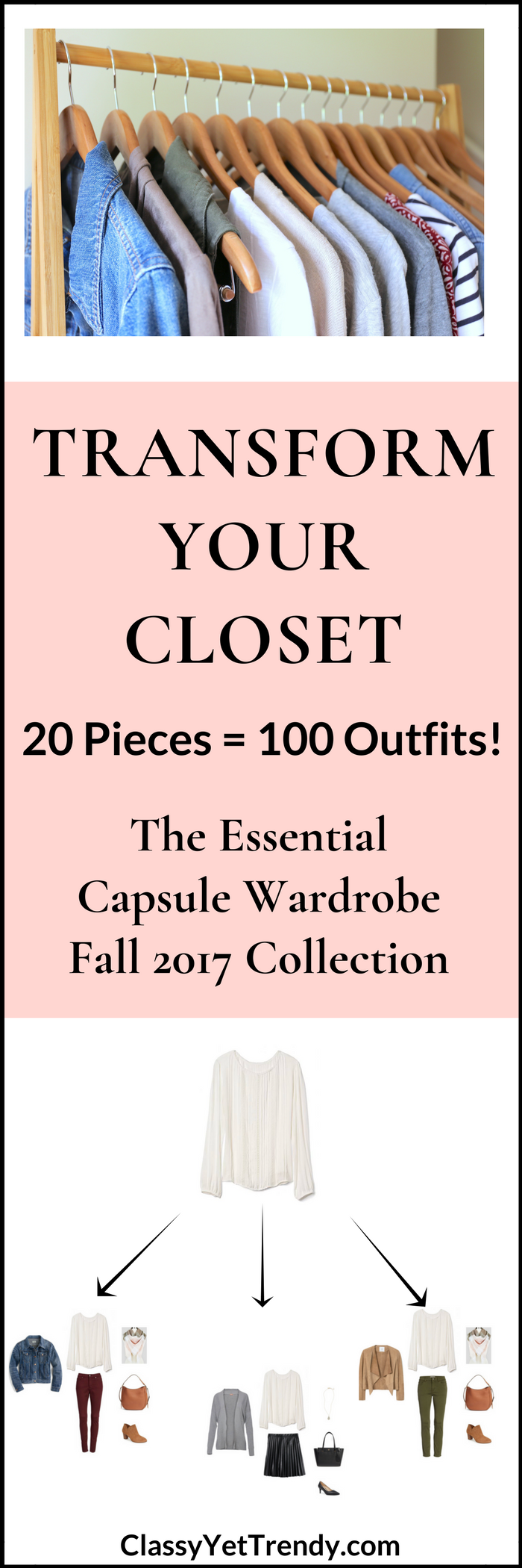 The Essential Capsule Wardrobe: Fall 2017 Collection