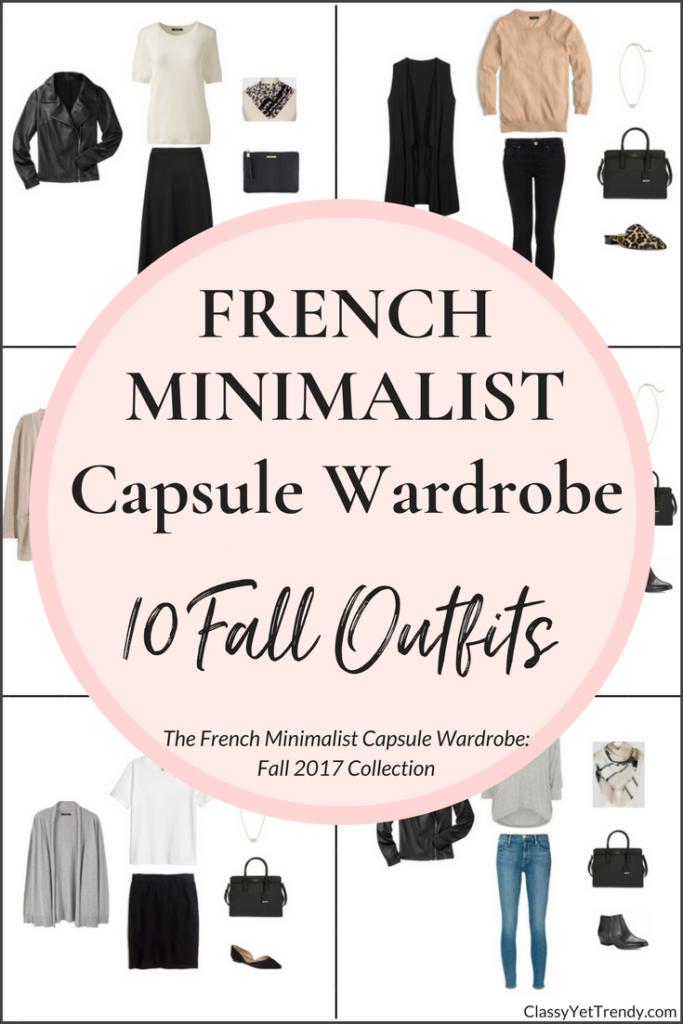 Create A French Minimalist Capsule Wardrobe: 10 Fall