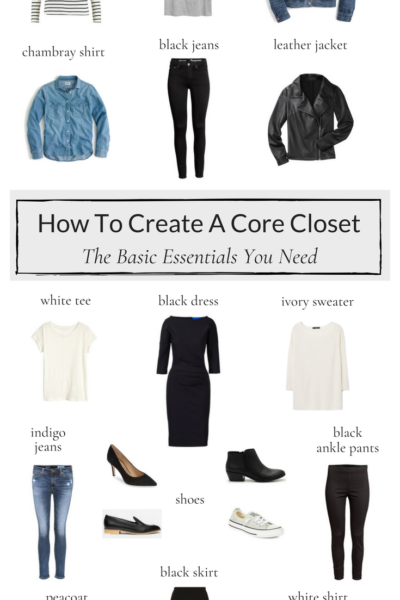 How To Create A Core Closet