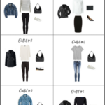 How To Create Outfits With A Core Closet: 6 Outfit Ideas