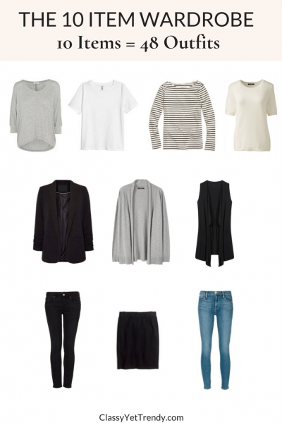 The 10 Item Wardrobe