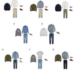 Create a Men's Capsule Wardrobe: 10 Fall Outfits