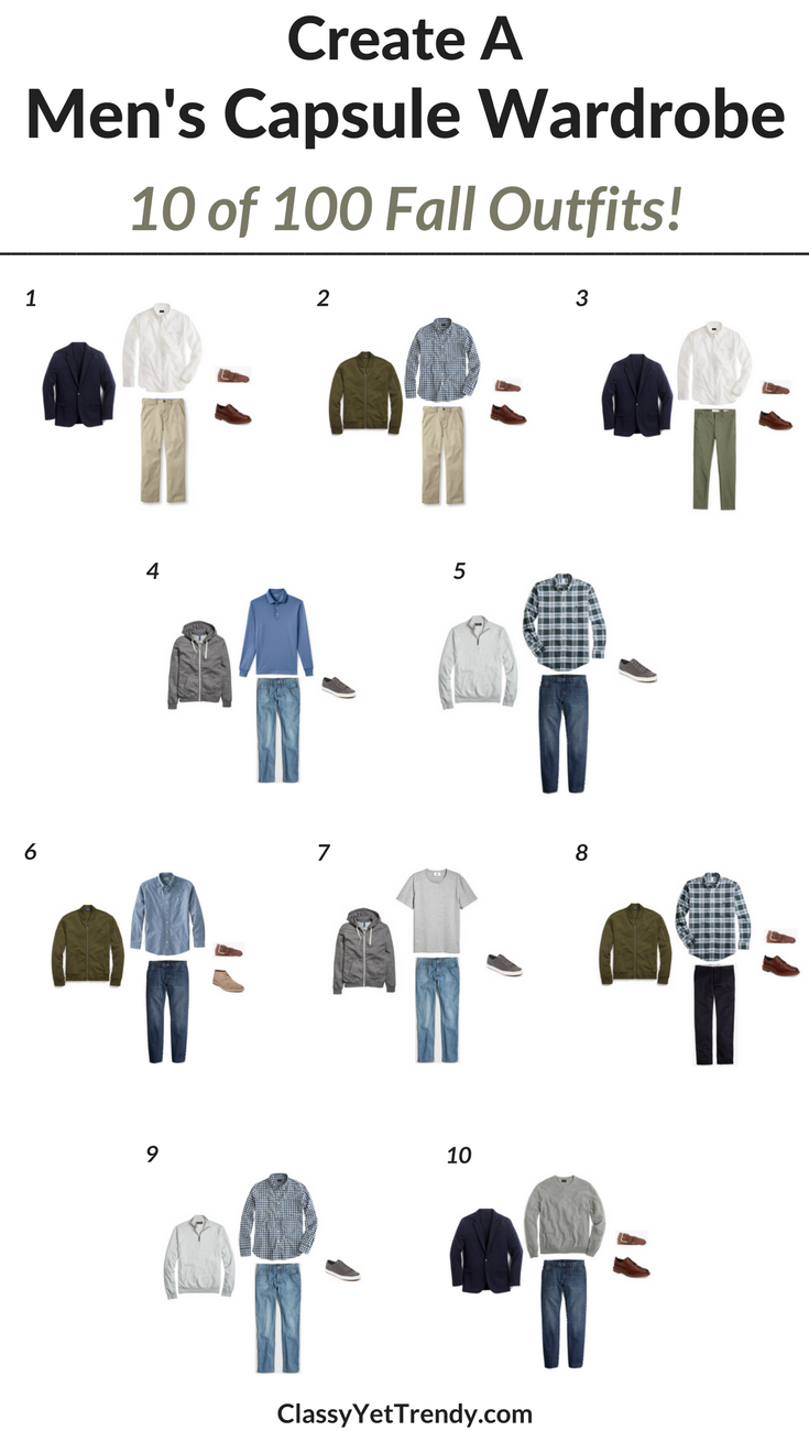 How To Create A Mens Capsule Wardrobe 28 Images How To