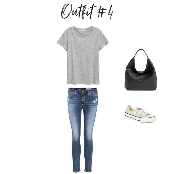 How To Create Outfits With a Core Closet - Outfit #4