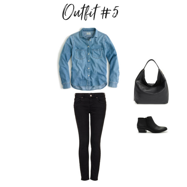 How To Create Outfits With a Core Closet - Outfit #5