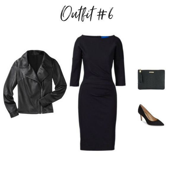 How To Create Outfits With a Core Closet - Outfit #6