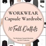 Create a Workwear Capsule Wardrobe: 10 Fall Outfits