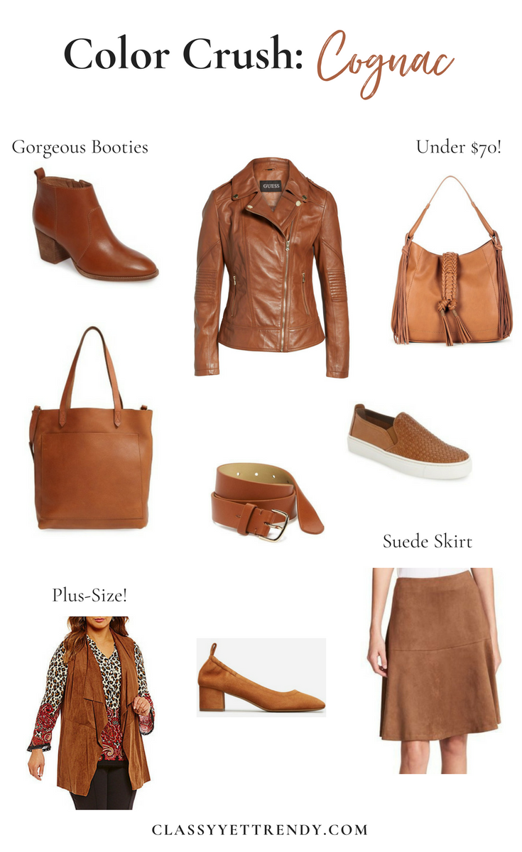 Color Crush: Cognac