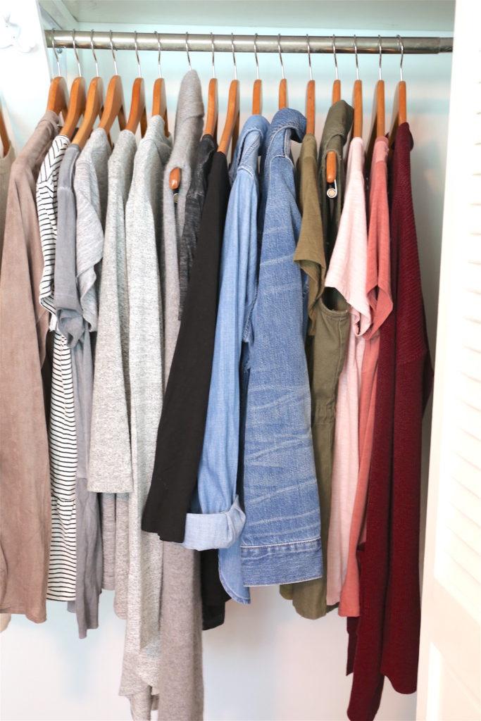 Fall 2017 Capsule Wardrobe - Right Side