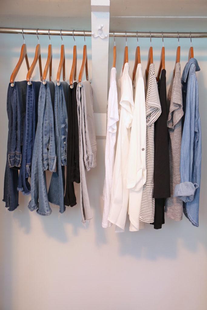 Fall 2017 Capsule Wardrobe - Step 1