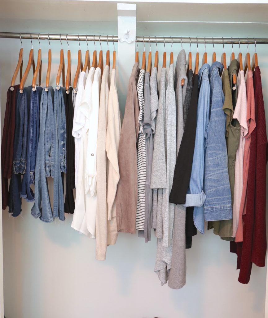 Fall 2017 Capsule Wardrobe - Step 3
