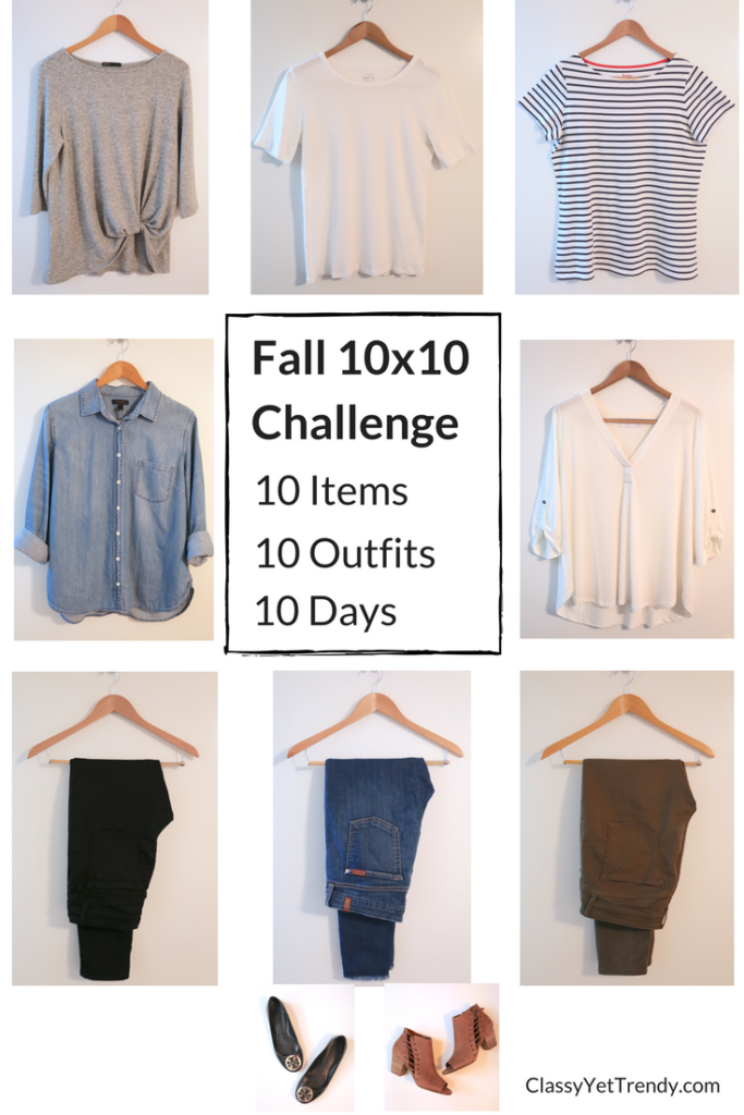 10 Items In 10x10 Fall Challenge