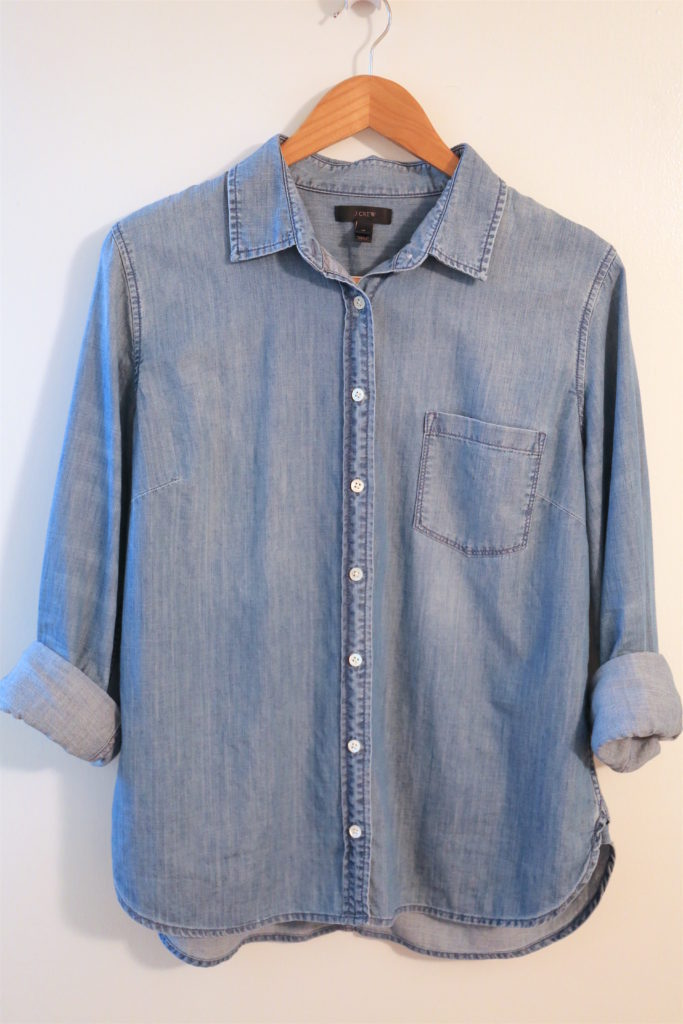 10x10-Fall-2017-Challenge Chambray Shirt