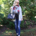 Black, Gray & A Pop Of Plaid (TW #141)
