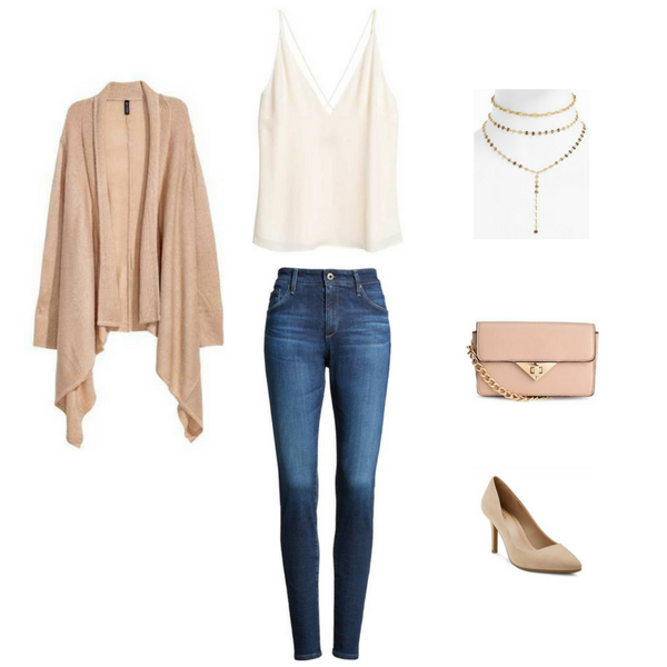 How To Wear Jeans 4 Ways - Outfit 1