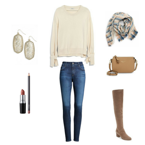 How To Wear Jeans 4 Ways - Outfit 4