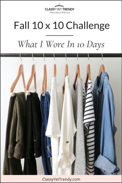Fall 10×10 Challenge Review: What I Wore In 10 Days (TW #140)