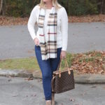 Cable and Plaid (Trendy Wednesday #145)