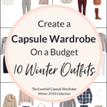 Create a Capsule Wardrobe On a Budget: 10 Winter Outfits