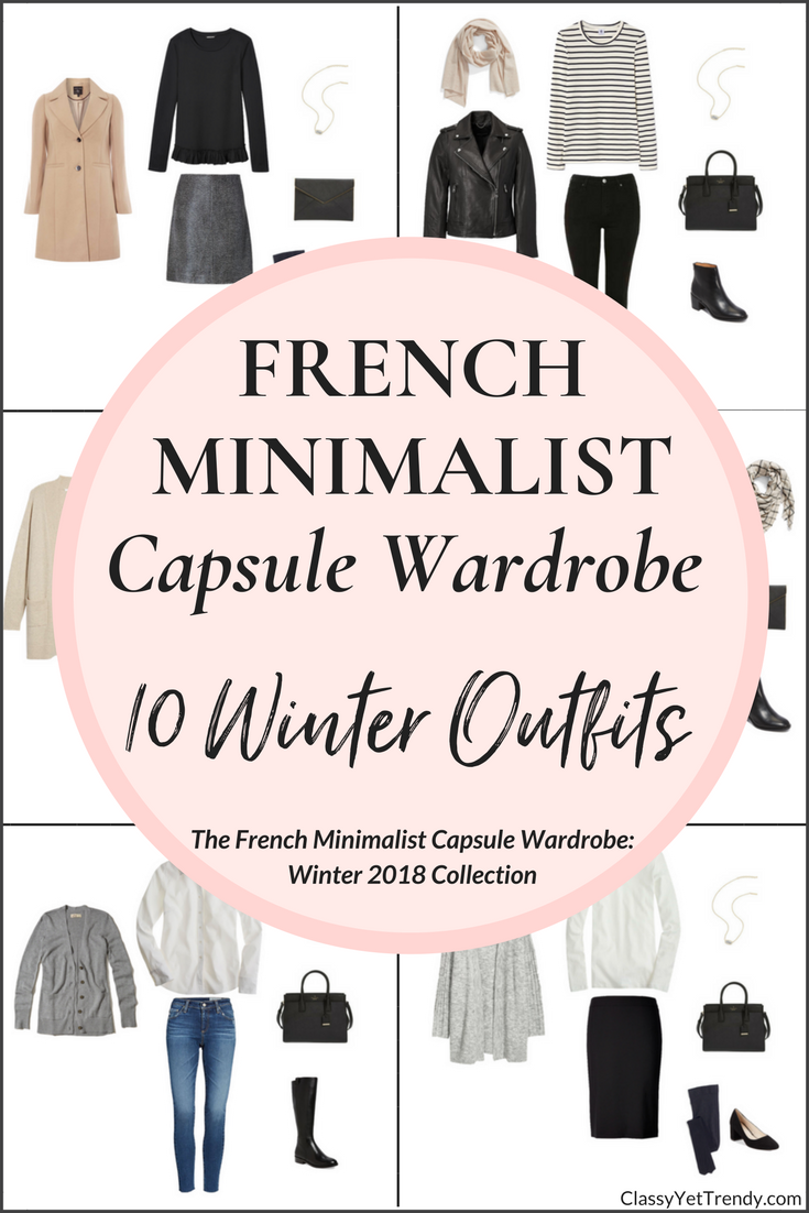 Create a French Minimalist Capsule Wardrobe: 10 Winter ...
