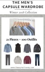 The Men's Capsule Wardrobe: Winter 2018 Collection