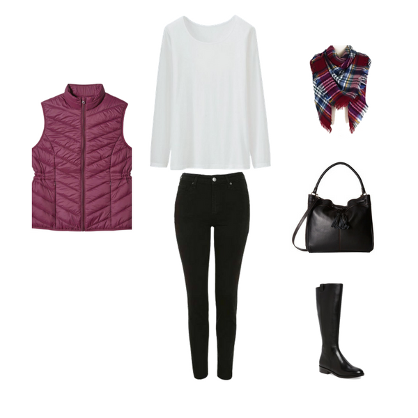 Stay At Home Mom Capsule Wardrobe Winter 2018 - Outfit 24