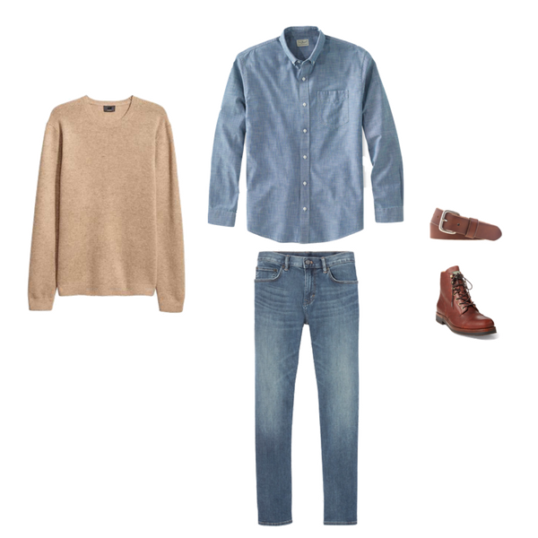 Mens Capsule Wardrobe - Winter 2018 - Outfit 25