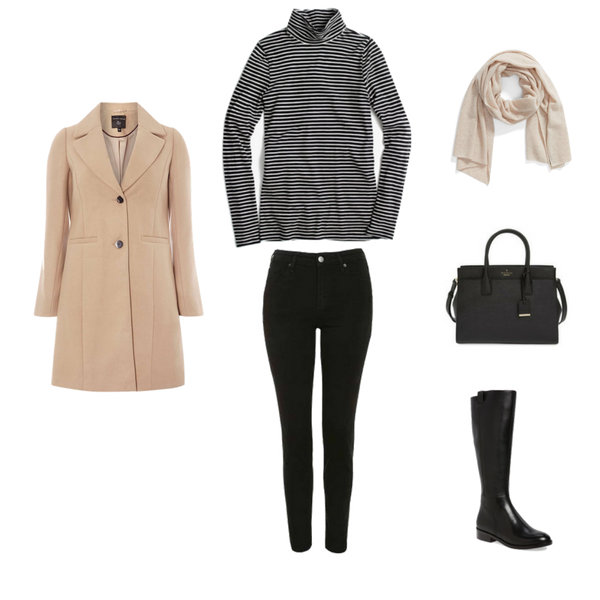 French Minimalist Capsule Wardrobe - Winter 2018 - Outfit 26