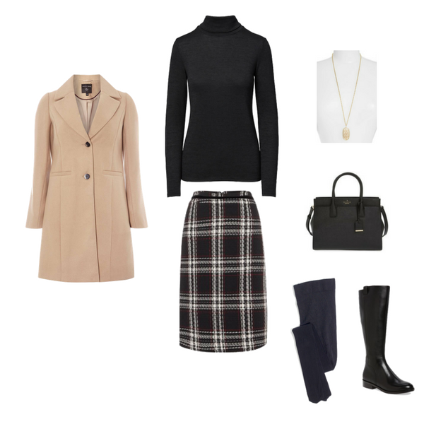 Workwear Capsule Wardrobe: Winter 2018 - Outfit 29