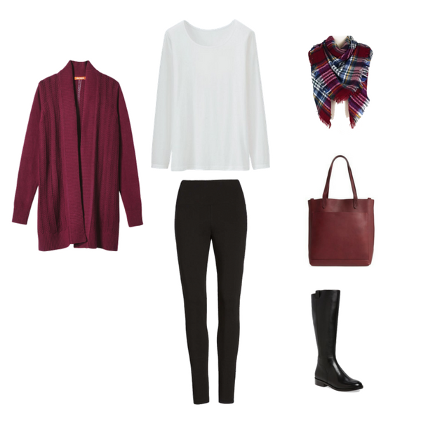 Stay At Home Mom Capsule Wardrobe Winter 2018 - Outfit 3