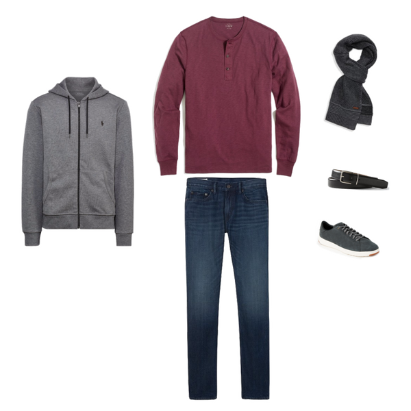 Mens Capsule Wardrobe - Winter 2018 - Outfit 43