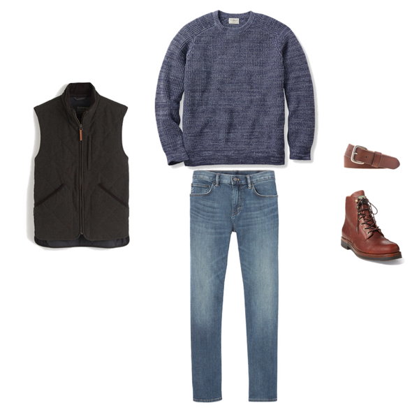 Mens Capsule Wardrobe - Winter 2018 - Outfit 60