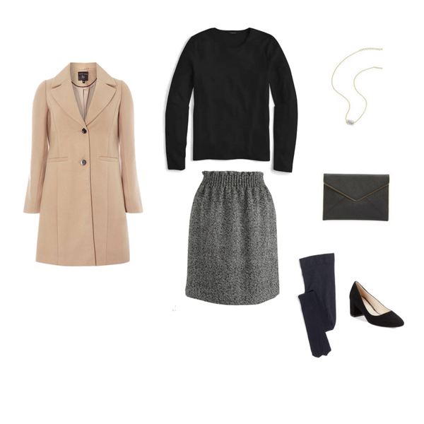 The French Minimalist Capsule Wardrobe-Winter 2018 - OUTFIT 60