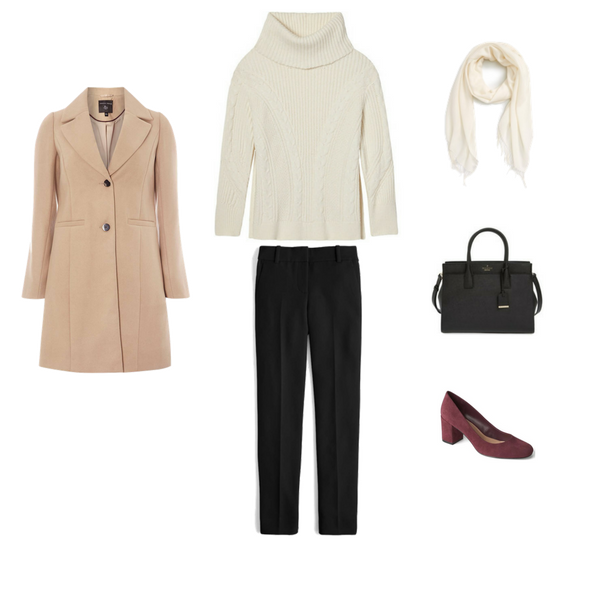 Workwear Capsule Wardrobe: Winter 2018 - Outfit 95