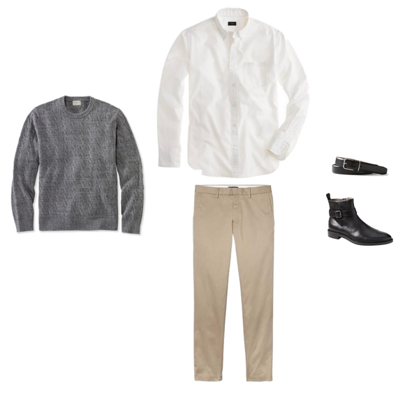 Mens Capsule Wardrobe - Winter 2018 - Outfit 95
