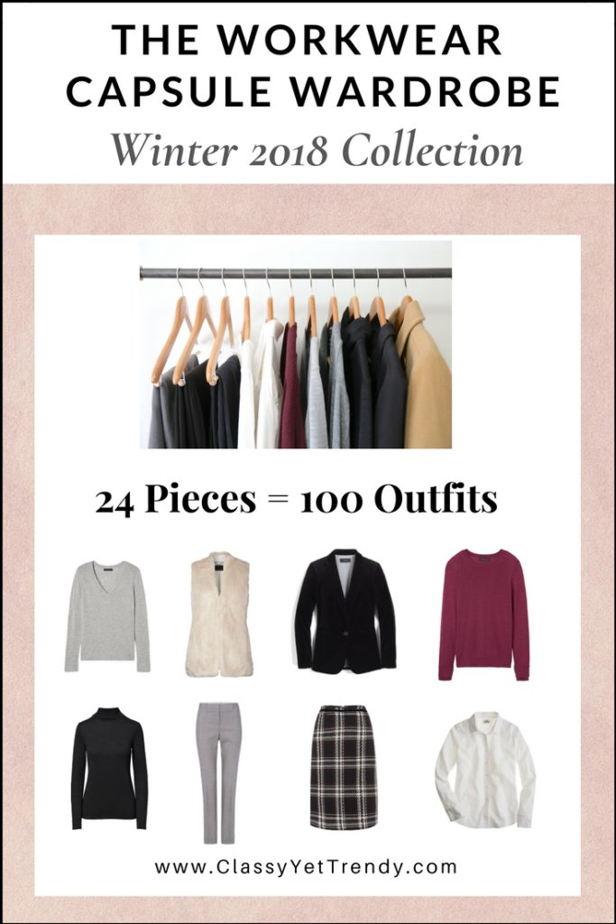 The Workwear Capsule Wardrobe: Winter 2017/2018 Collection
