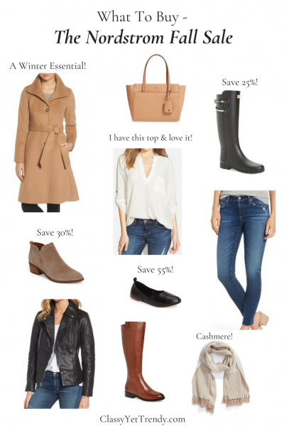 What To Buy At The Nordstrom Fall Sale