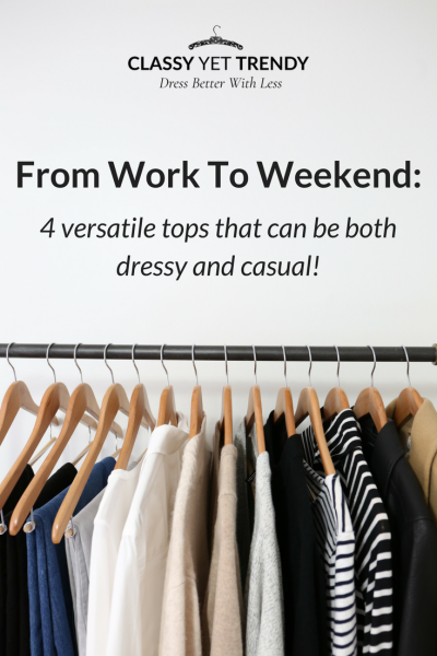 From Work To Weekend: 4 Versatile Tops