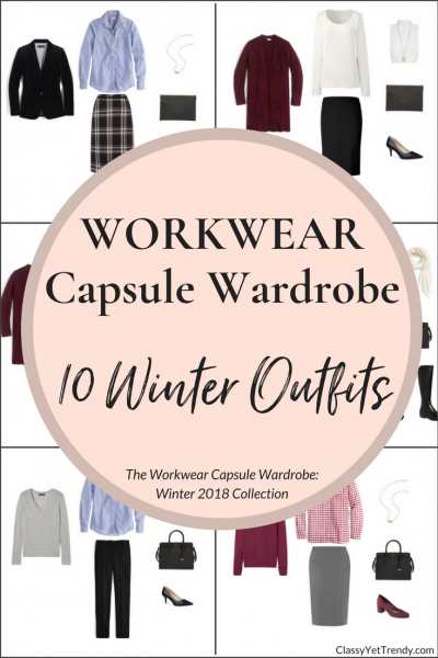 Create a Workwear Capsule Wardrobe: 10 Winter Outfits