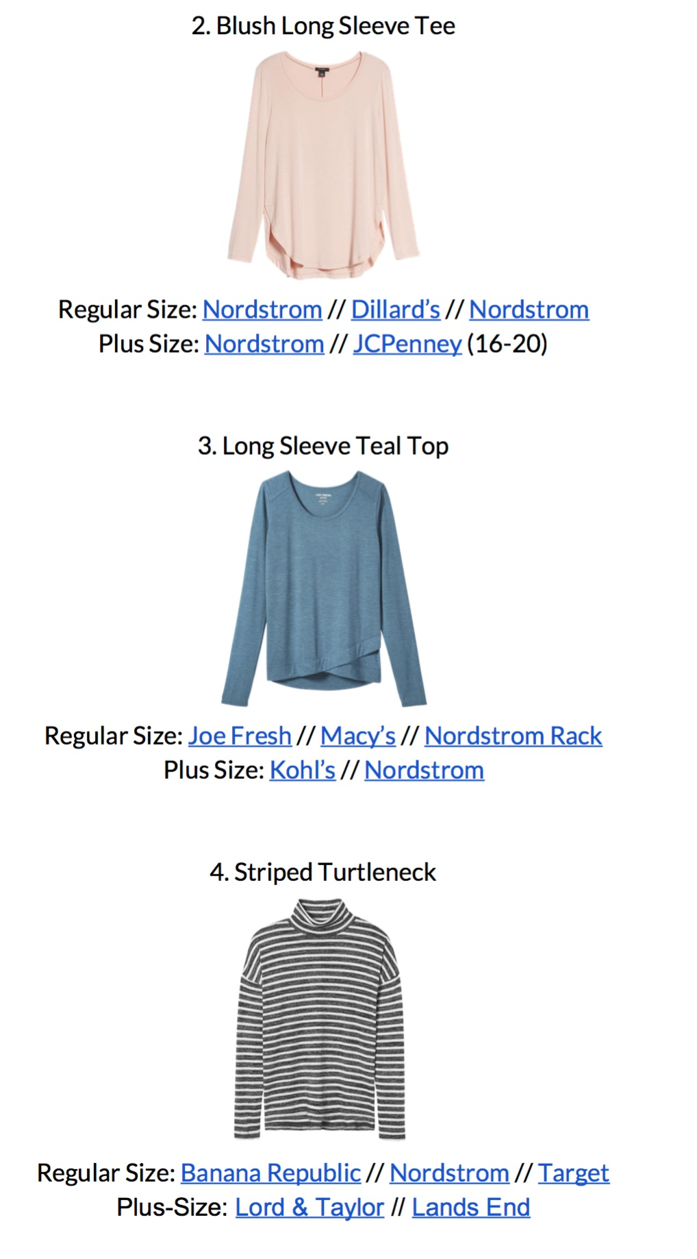 Stay At Home Mom Capsule Wardrobe Winter 2018 - sample page 1