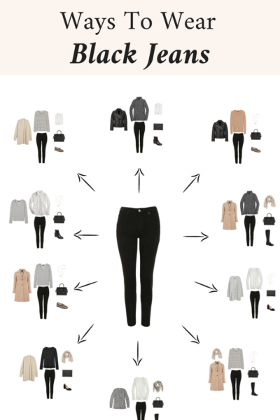 10 Ways To Wear Black Jeans