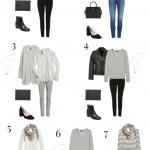 9 Pieces / 10 Outfits (French Minimalist Winter)