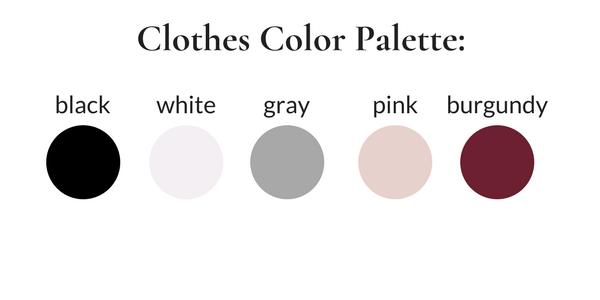 ATHLEISURE Winter 2018 Color Palette