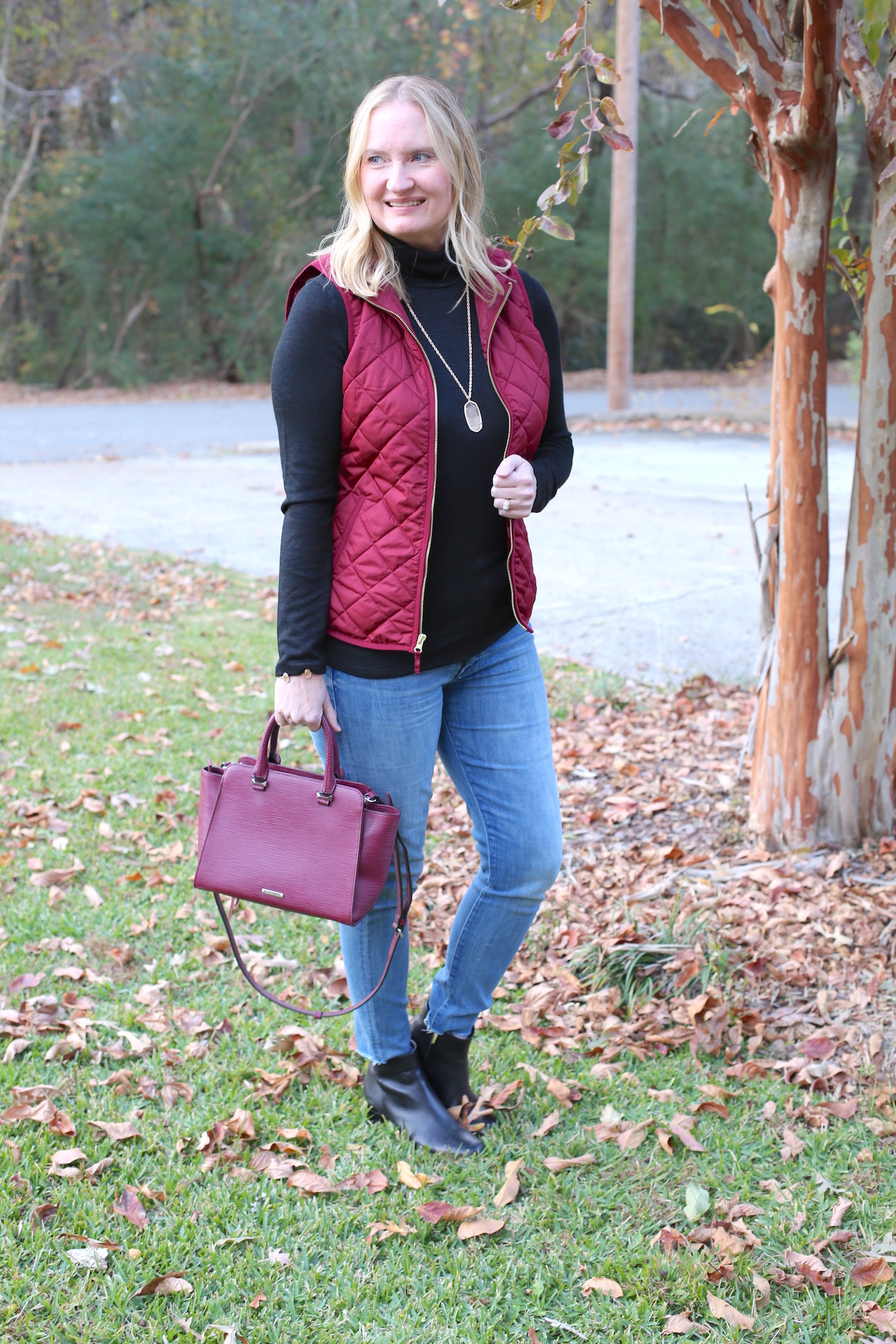 Black, Burgundy and Rose Gold (Trendy Wednesday #146)