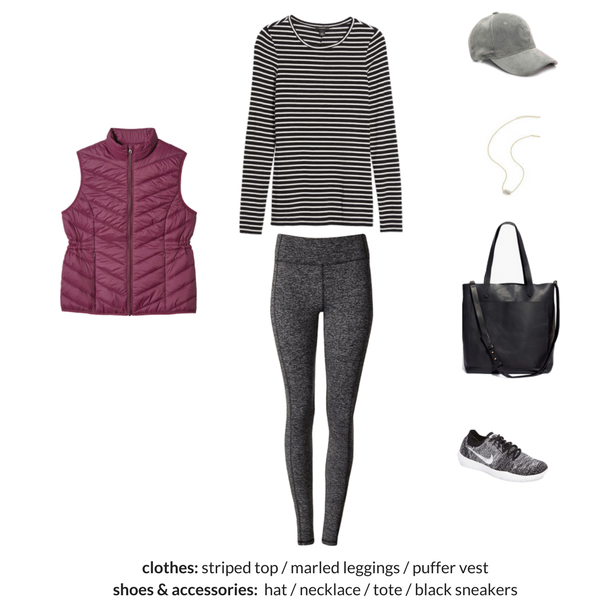 The Athleisure Capsule Wardrobe Winter 2018 Collection - OUTFIT 10