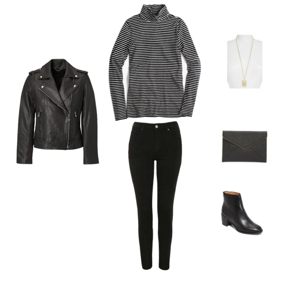 French Minimalist Capsule Wardrobe Winter 2018 - OUTFIT 25